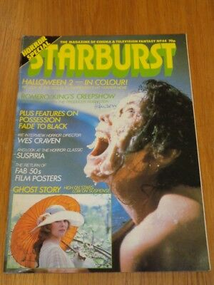 STARBURST #44 BRITISH SCI-FI MONTHLY MAGAZINE APRIL 1982 HALLOWEEN 2 FAB 50S ()