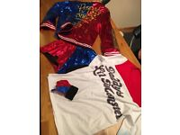 Harley Quinn full out fit size 10/12