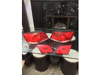 Bmw e93 rear lights x4 full set