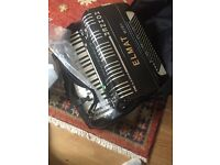 Midi accordion light weight reedlass