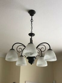 Frosted Ceiling Light