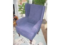 High Winged Back Armchair
