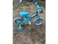 "Childs bike Honeybee 11"" wheel bike bicycle staibilisers kids"