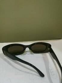 Fendi clear green womens sunglasses