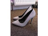 Sparkle boohoo heels