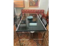 Mid Century Modern Dining Table by Milo Baughman