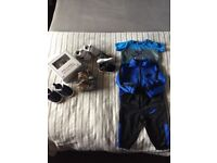 Baby boy bundle of clothes & shoes