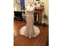 Pronovias 'Balada' UK Size 8 Wedding Dress