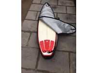 Channel Islands Fred rubble (immaculate) 6'8 x 20 1/4 x 2 3/4, 39 litres