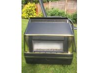 Gas Fire, Valor Heartbeat Model 425 with Manual and backplate, working last week, Must Collect