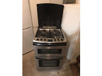 ZANUSSI Dual Fuel StainlessSteel Gas Cooker 60cm Wide (Fully Working & 4 Month Warranty)