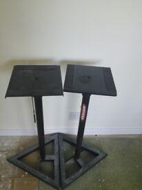 2 X speaker stands