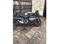 Yamaha r 125 moped