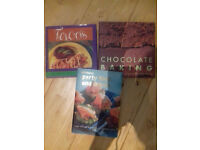 3 cookery books