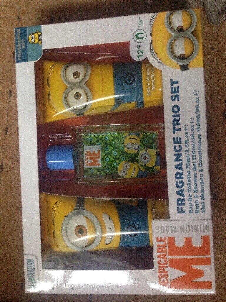 Kids perfume set xmas gift set minions