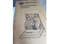 Slimline Integrated Dishwasher - White Knight DW0946ia