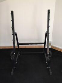 Bodygrip squat rack, bench rack