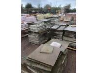 270 yard of reclaimed flagstone only £50 per yard
