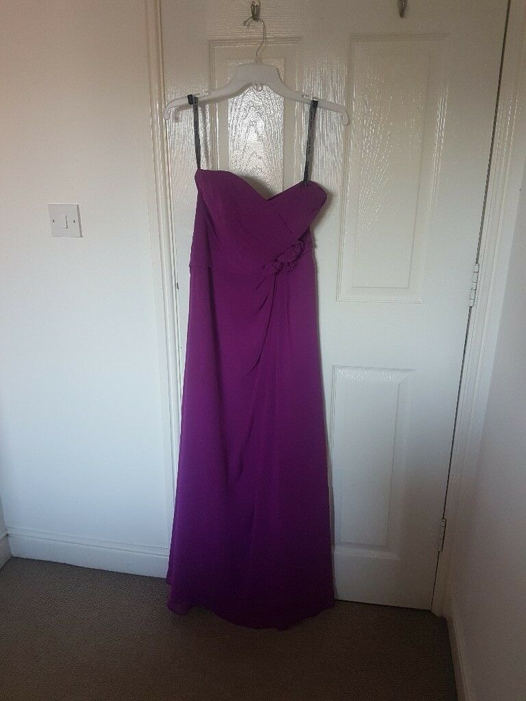 Purple Bridesmaid Dress Size 10 | in Whalley Range, Manchester | Gumtree
