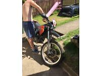 Derby senda 125 mint runner cheap bike !!