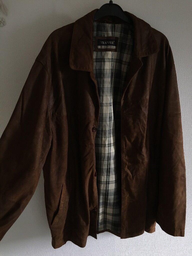 Designer Trapper soft brown leather jacket | in Bangor, County ...