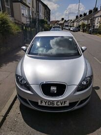 Seat Leon Sport - Diesel DSG Auto. Silver. Well maintained + drives like new