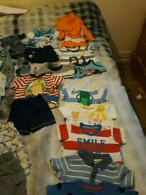 Boys 6-9 months summer bundle