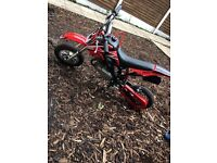 50cc mini dirt bike
