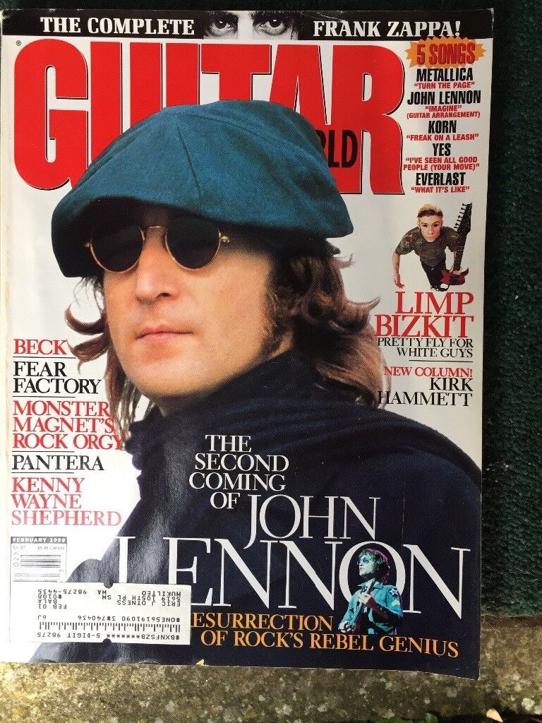 Guitar player and Guitar World magazinesUSA . Editions from 1980s -2000s