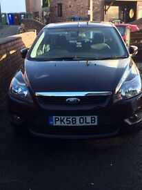 Ford Focus Zetec 1.8. MOT dec2017. One previous owner