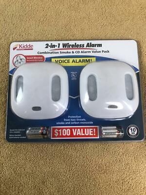 NEW Kidde Wireless Interconnected Smoke Carbon Monoxide Alar