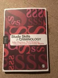 Criminology book