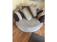 Corner suite and cuddle chair need gone ASAP due to house sale.