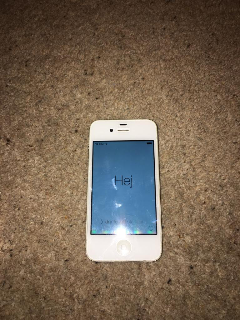 iPhone 4 white 16gb Vodafone PRICE DROPPED