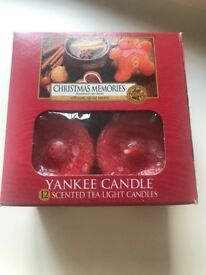 Yankee Candle Tealights - Christmas Memories