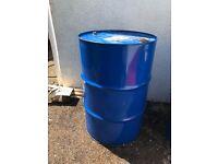 1 x Steel Oil Drum 205 litre 45 gallon