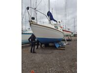 25 ft westerly windrush sail boat
