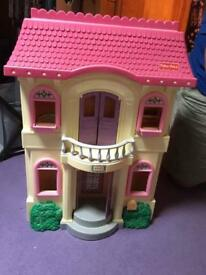 Fisher Price dolls house and accessories