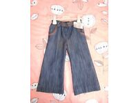 Girls NEXT jeans size 2-3y, bnwt