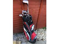 Slazenger panther x golf clubs and bag