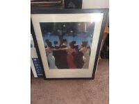 Jack Vettriano - Waltzers Print in frame