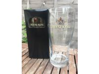 Collectable Greene King 1.5 pint boxed glasses for sale