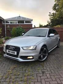 Audi A4 Avant 2.0tdi Black Edition CAT D, FACELIFT MODEL