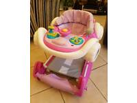 'MyChildCoupe' Pink Baby Walker