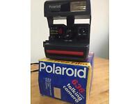 Polaroid instant 636 talking camera
