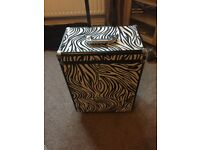 Roo hair and beauty trolly with matching bag