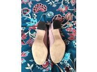Asos shoes pink/black