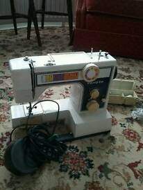2 sewing machine