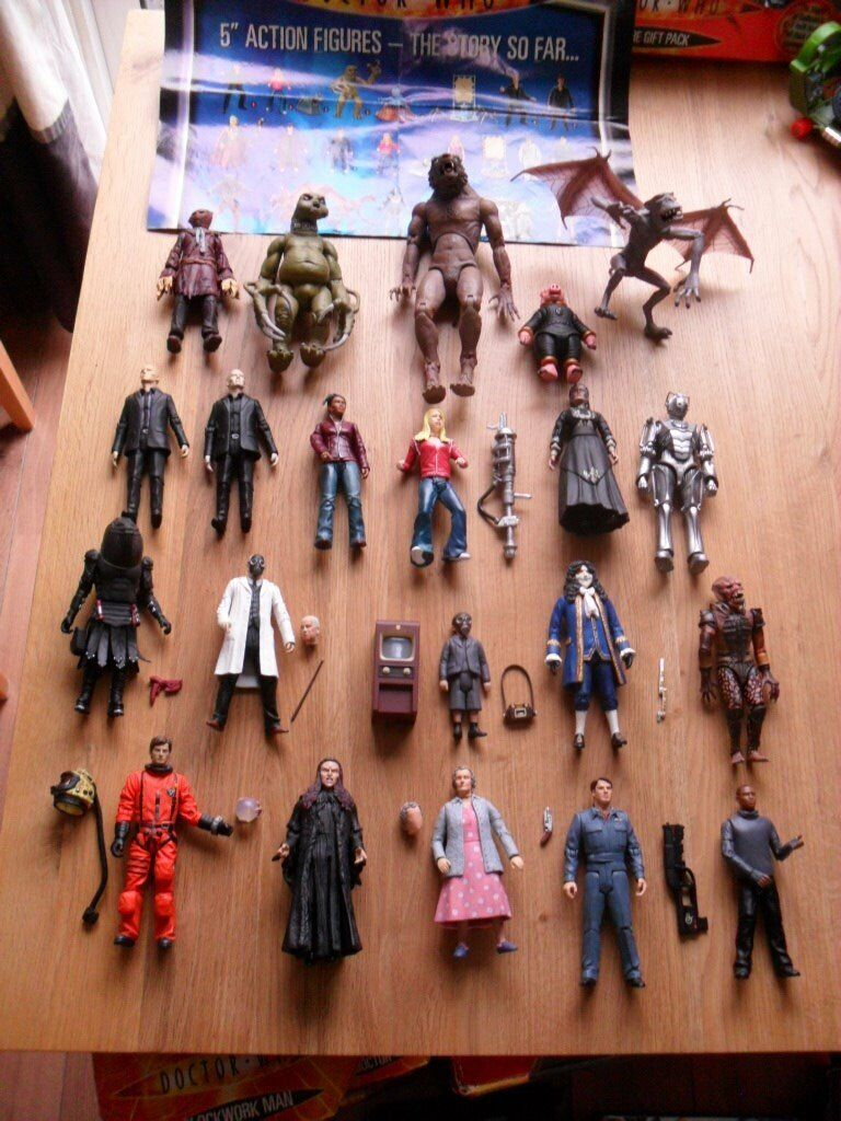 Doctor Who Figures Accessories