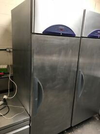 Williams commercial single door upright fridge, catering fridge